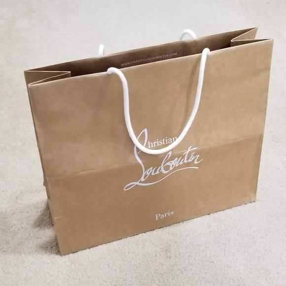 51754e7384c Christian Louboutin shopping bag